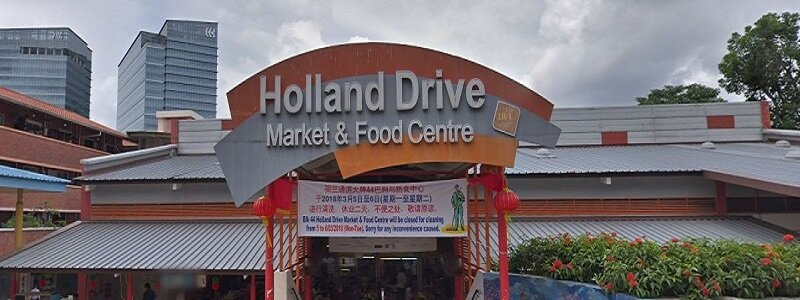 Holland Drive Market Food Centre Near One-North Eden